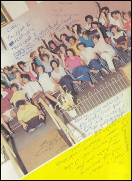 1984 Delta High School Yearbook Page 3