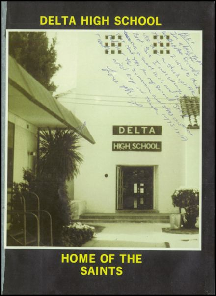 1984 Delta High School Yearbook Page 5