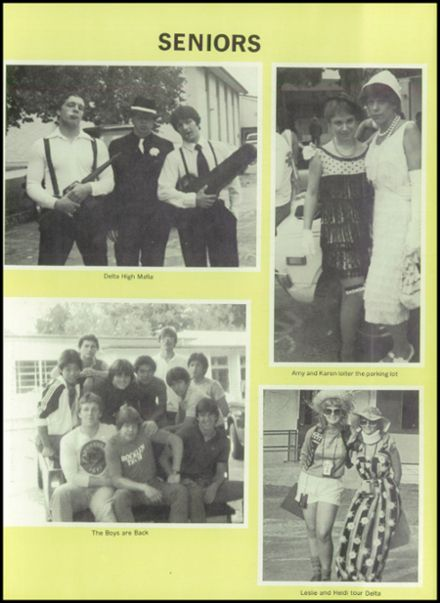 1984 Delta High School Yearbook Page 7
