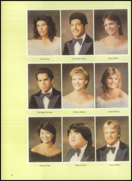 1984 Delta High School Yearbook Page 8