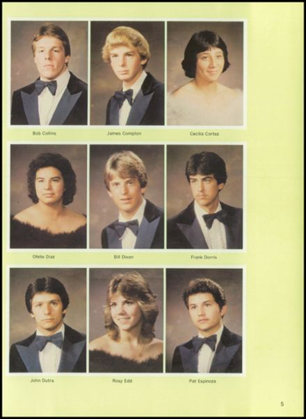 1984 Delta High School Yearbook Page 9