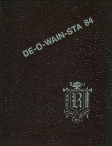 1984 Rome Free Academy Yearbook Cover