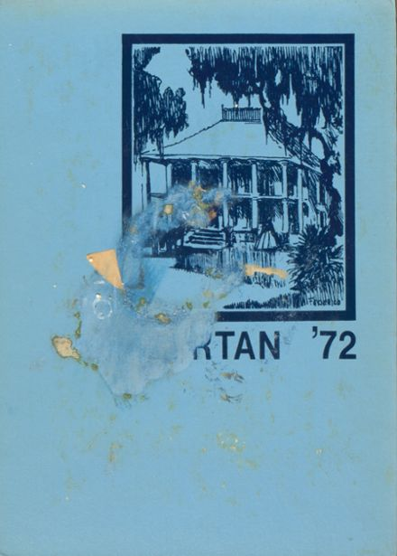 1972 Ecole Classique High School Yearbook Cover