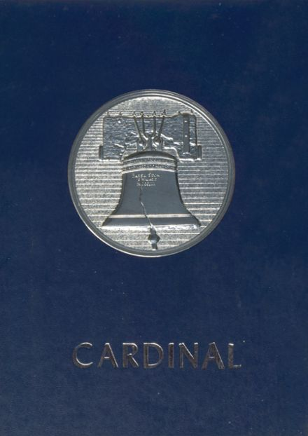 1976 Triad High School Yearbook Cover