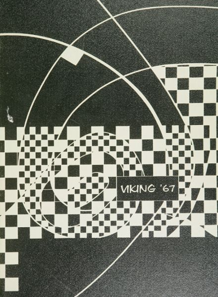 1967 North High School Yearbook Cover