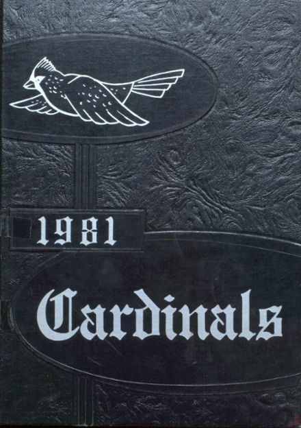 1981 Earlham High School Yearbook Cover