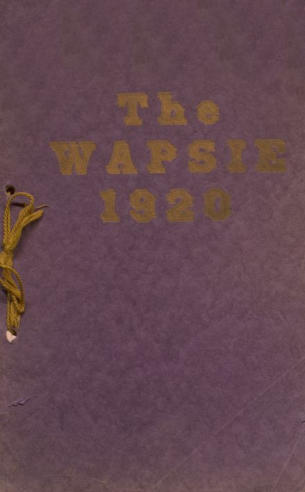 1920 Independence Christian High School Yearbook Cover