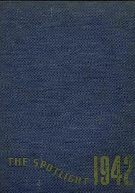 1942 Holy Spirit High School Yearbook Cover