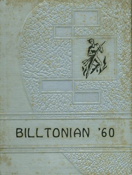 1960 Williamstown High School Yearbook Cover