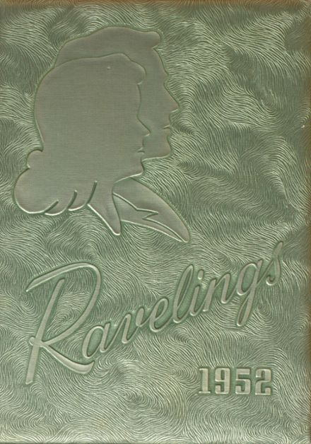 1952 Decatur High School Yearbook Cover