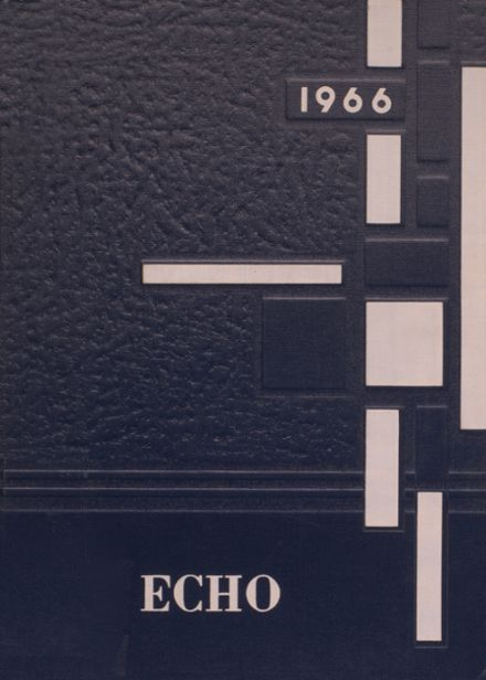 1966 Elyria Catholic High School Yearbook Cover