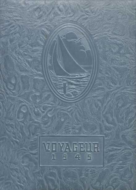 1945 Central Valley High School Yearbook Cover