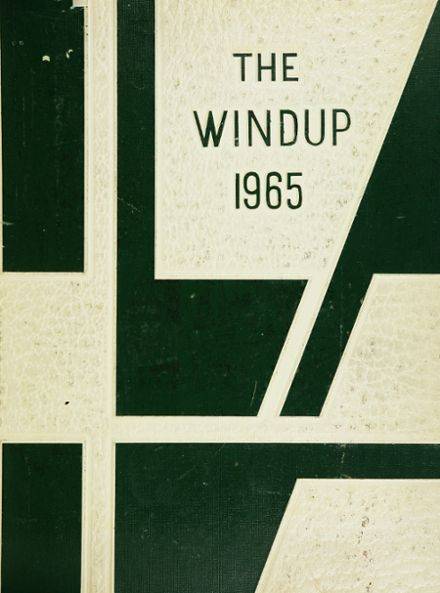 1965 Walter Johnson High School Yearbook Cover