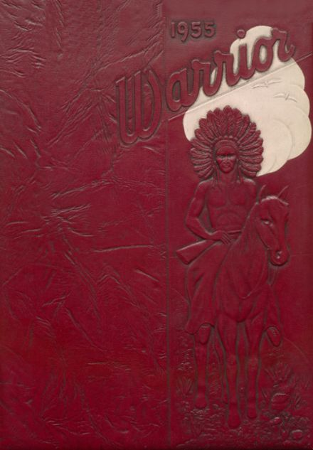 1955 Oaks-Mission High School Yearbook Cover