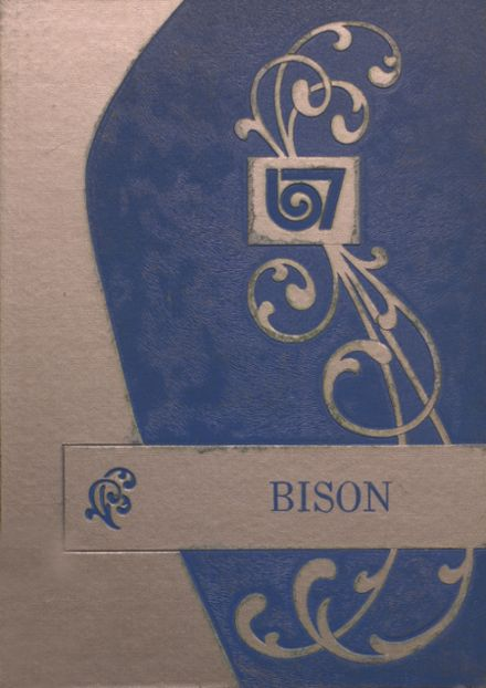 1967 Cross Plains High School Yearbook Cover