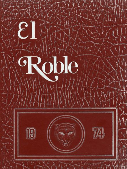 1974 Paso Robles High School Yearbook Cover