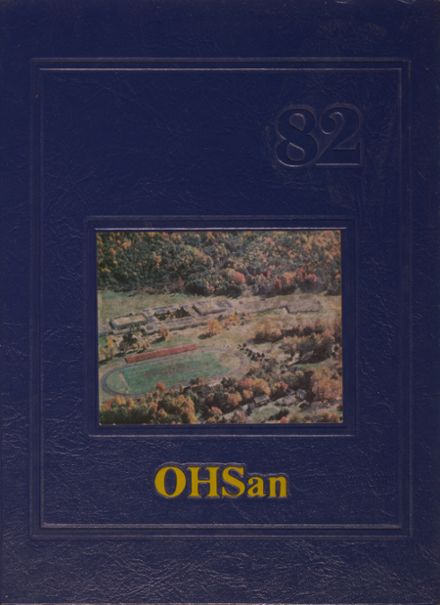 1982 Oneonta High School Yearbook Cover