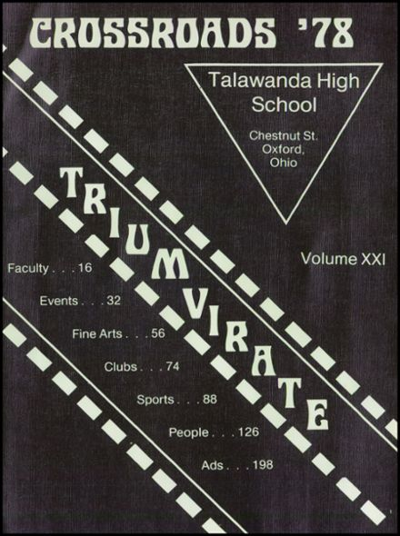 1978 Talawanda High School Yearbook Page 5