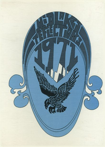 1971 Midlakes High School Yearbook Cover