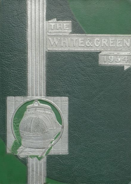 1934 Provo High School Yearbook Cover