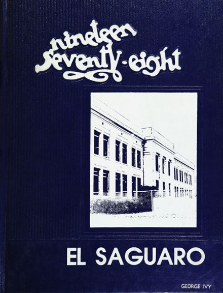 1978 Yuma Union High School Yearbook Cover