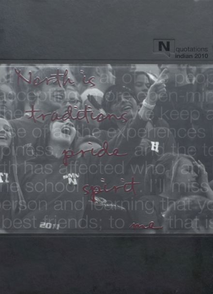 2010 Shawnee Mission North High School Yearbook Cover