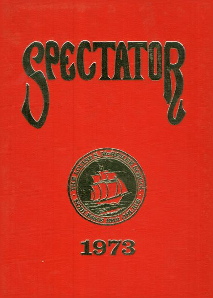 1973 Louise S. McGehee High School Yearbook Cover