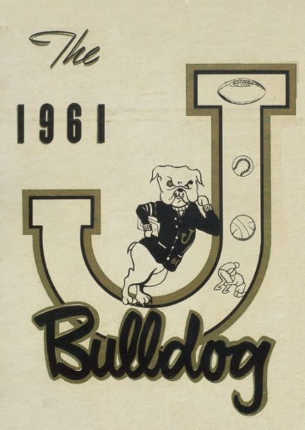 1961 Jay High School Yearbook Cover