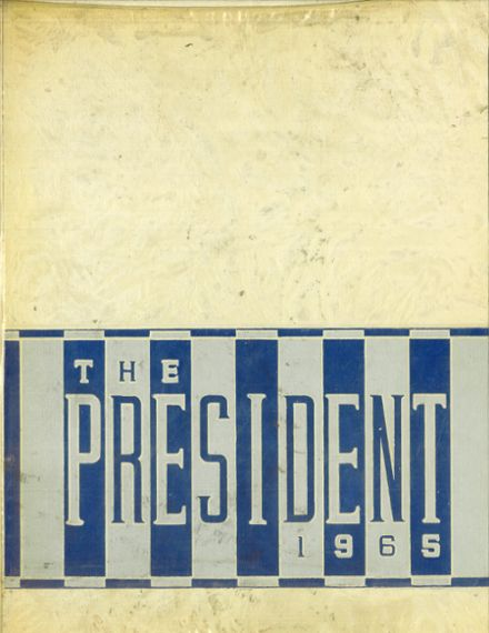 1965 Lincoln High School Yearbook Cover