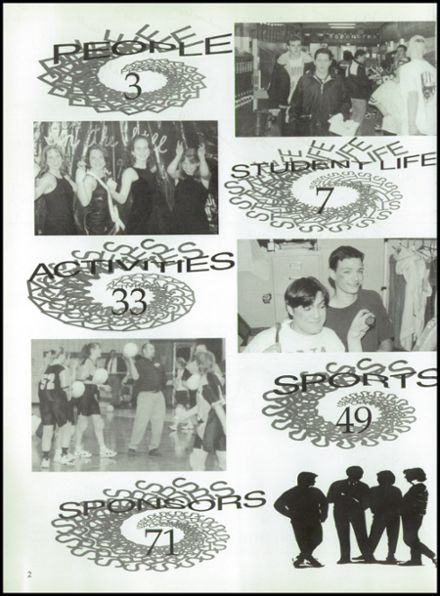 1998 Rosholt High School Yearbook Page 6