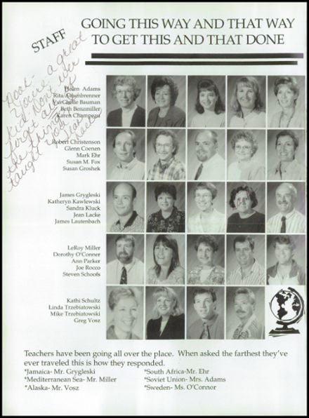 1998 Rosholt High School Yearbook Page 8