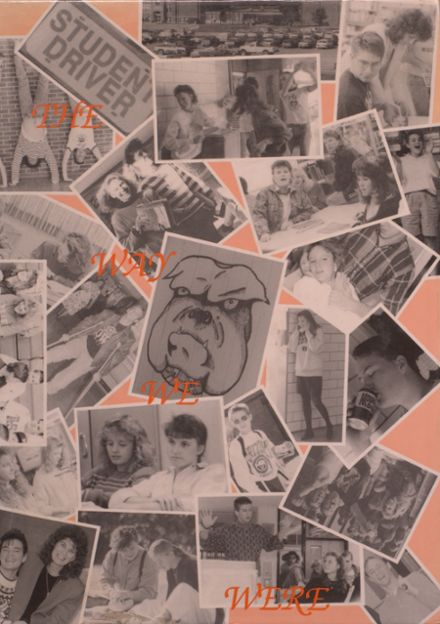 1990 Mediapolis High School Yearbook Cover