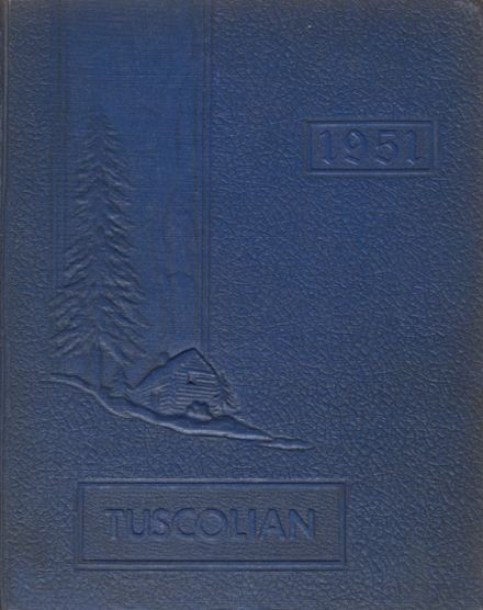1951 Tuscola High School Yearbook Cover