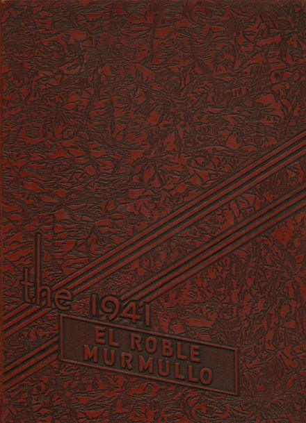 1941 Paso Robles High School Yearbook Cover