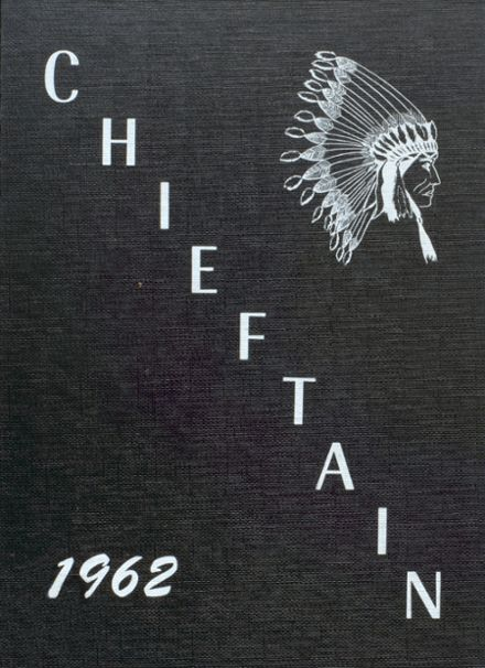 1962 White Cloud High School Yearbook Cover