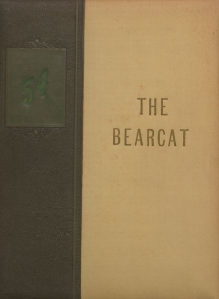 1954 Moody High School Yearbook Cover