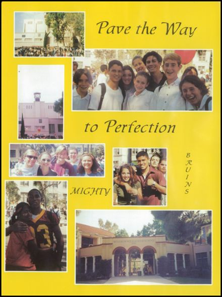 1998 Woodrow Wilson High School Yearbook Page 7