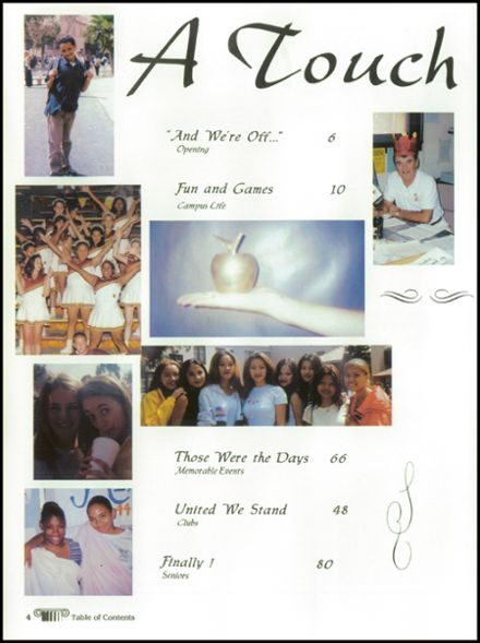 1998 Woodrow Wilson High School Yearbook Page 8