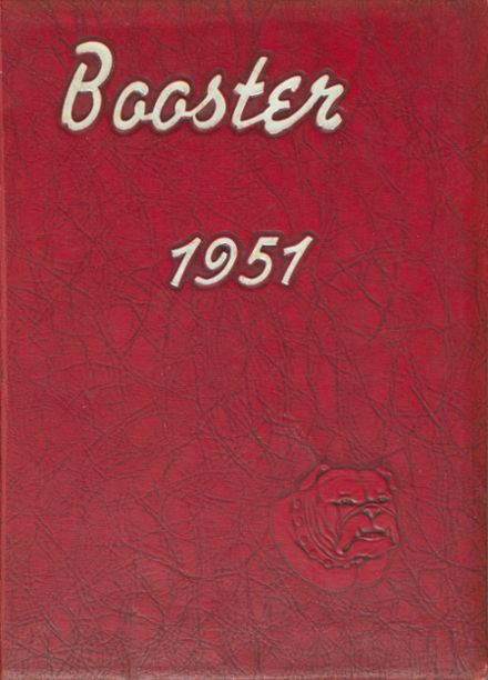 1951 Boiling Springs High School Yearbook Cover
