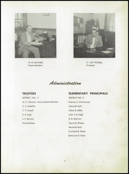 1951 Boiling Springs High School Yearbook Page 7