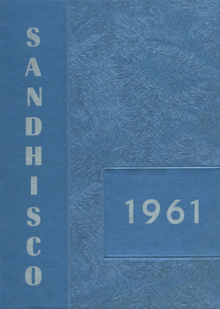 1961 Sandcreek Township High School Yearbook Cover