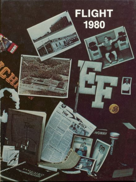 1980 Edsel Ford High School Yearbook Cover