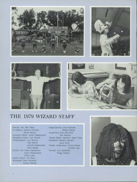 1979 Edison High School Yearbook Page 6