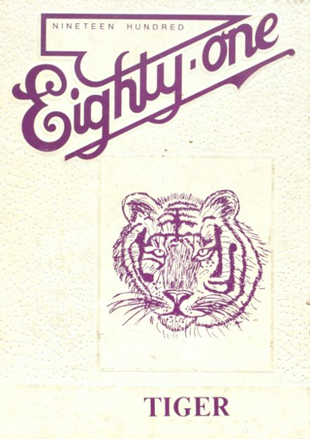 1981 Centreville High School Yearbook Cover