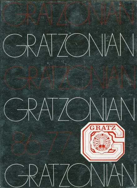 1977 Gratz High School Yearbook Cover