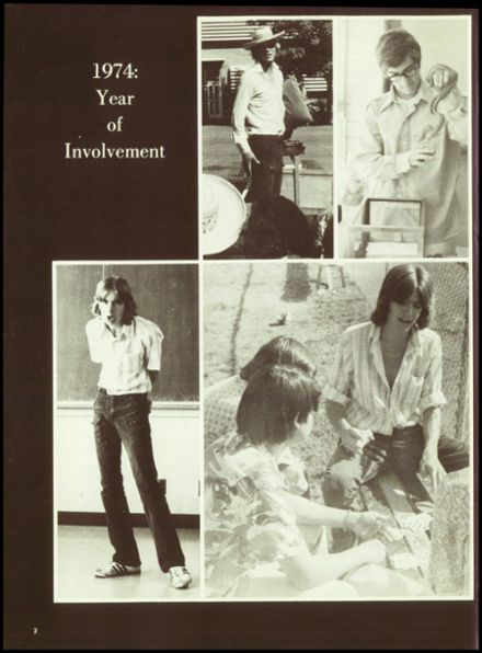 1974 Crespi Carmelite High School Yearbook Page 6