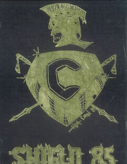 1985 Camelback High School Yearbook Cover