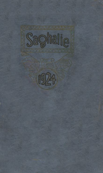 1924 Reed High School Yearbook Cover
