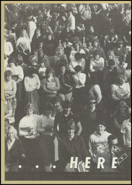 1984 River Falls High School Yearbook Page 2