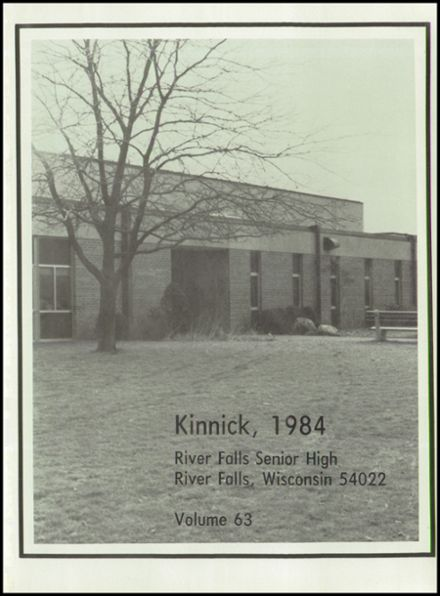 1984 River Falls High School Yearbook Page 5